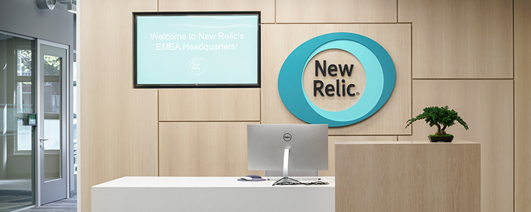 Technology firm New Relic has opened its new European headquarters in Dublin